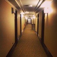 korytarz w hotelu